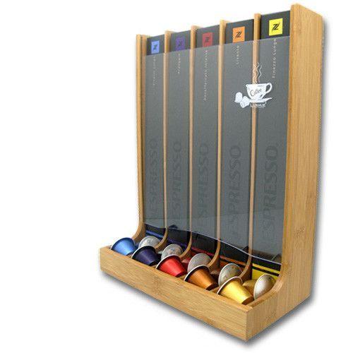 Vandue Corporation Vue Bamboo 5 Section Nespresso Capsule