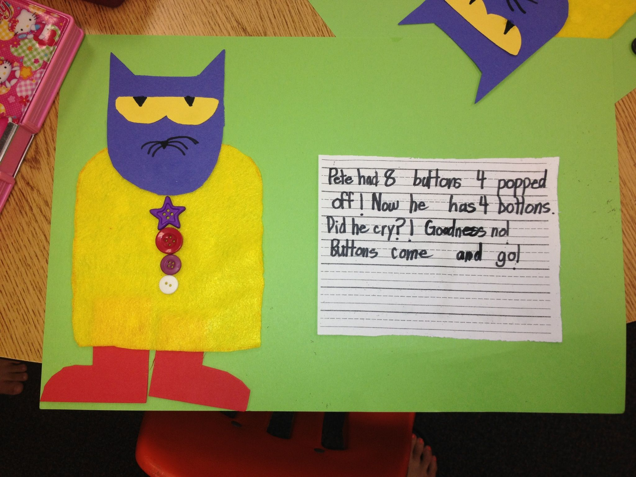 Pete The Cat Did He Cry Goodness No