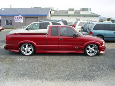 2003 Chevy S 10 Xtreme 0 Extended Cab Fleetside W Rims Chevy