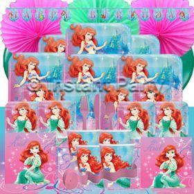 Girls Parties :: The Little Mermaid :: The Little Mermaid Prestige Party Pack