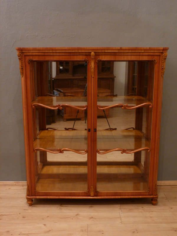 Antike Möbel Berlin antike louis philippe vitrine um 1870 kirschholz antike möbel