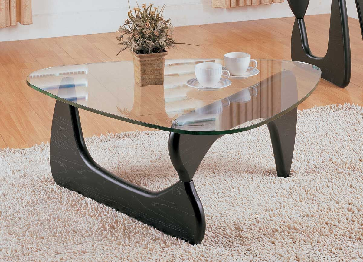 Homelegance Chorus Cocktail Table 3205 30 Homelement Com Triangle Coffee Table Coffee Table Setting Black Coffee Table Sets [ 865 x 1200 Pixel ]