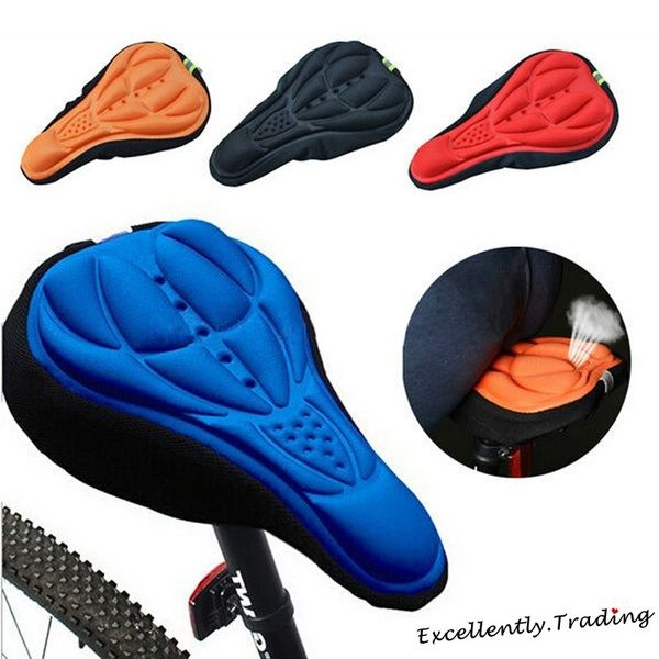 New Sports 3d Bike Pad Saddle Bicycle Seat Cover Riding Equipment