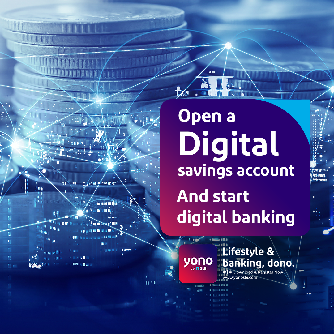 Open Your Digital Savings Account With Yono By Sbi And Step Into The Digital Universe Of Banking Download Yonosbi Banking App Savings Account Lifestyle Apps