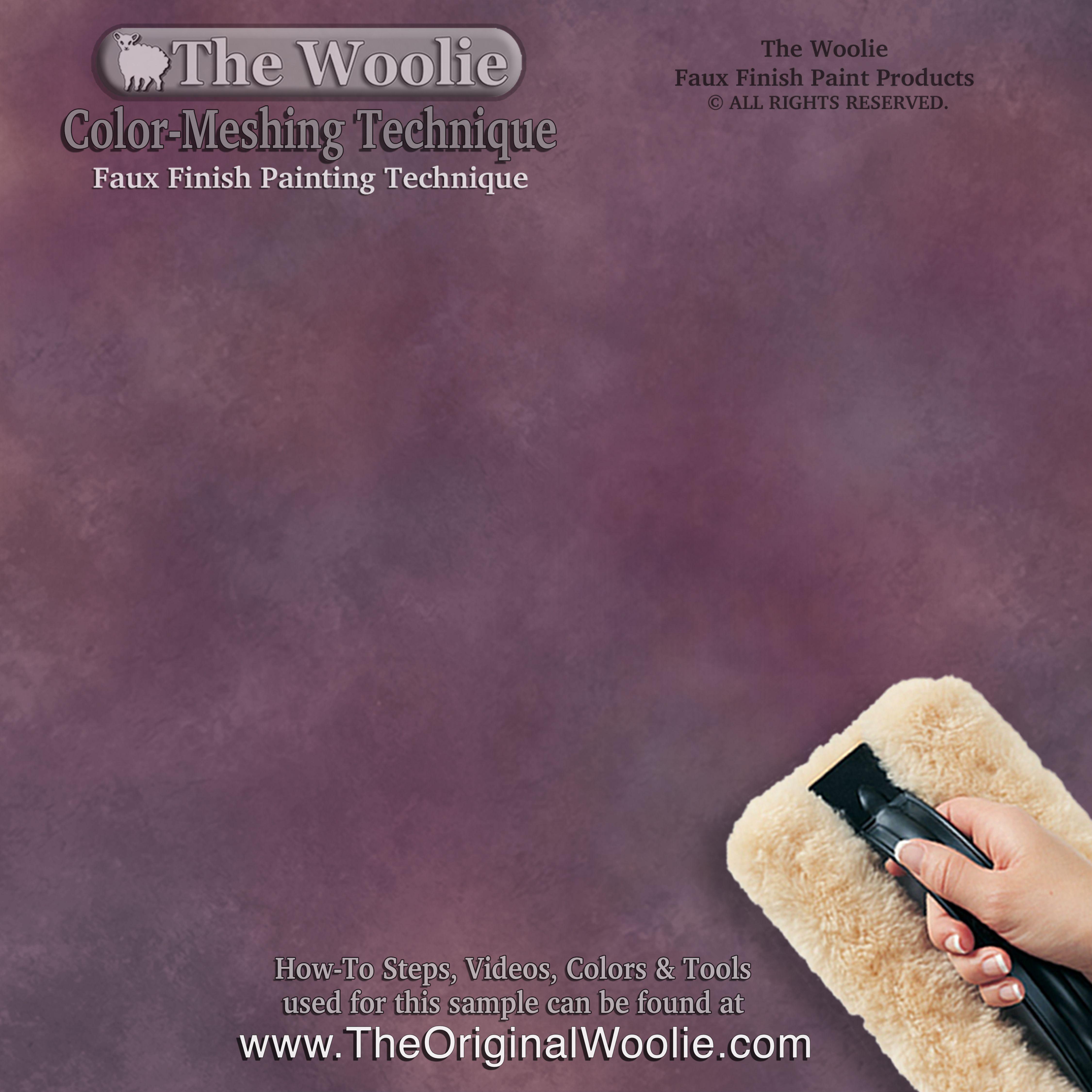 original faux finish paint technique starter kit paint