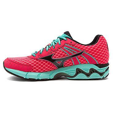 Mizuno Wave Inspire 11 Mizuno- Rouge Red/Black/Florida Keys sneakers