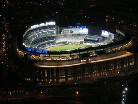 Empty Yankee Stadium At Night New Yankee Stadium by ...