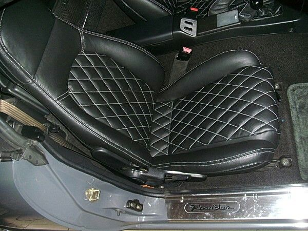 quilted leather seat covers mx5 miata roadster interior cars mx 5 pinterest leather seat. Black Bedroom Furniture Sets. Home Design Ideas