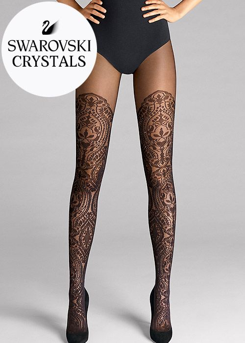 17d71f2d299d Wolford Henna Sparkle Tights in 2019