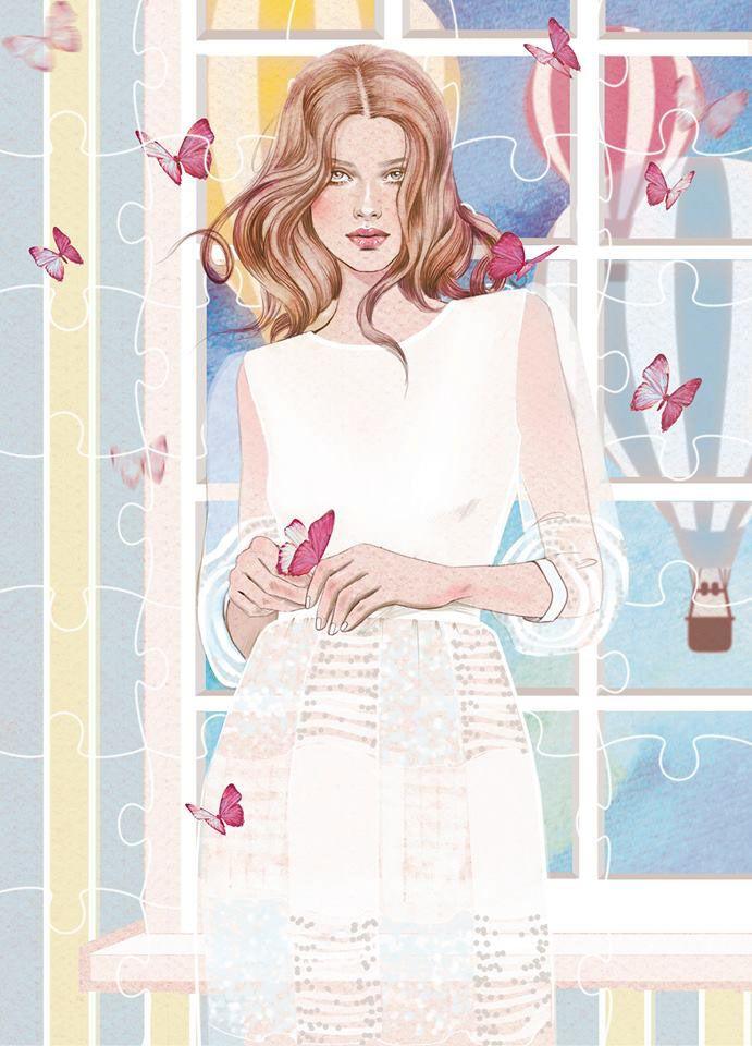 Illustration for fashion brand Poca and Poca.