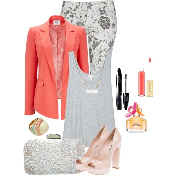 Coral-ine by iris-nemesis on Polyvore