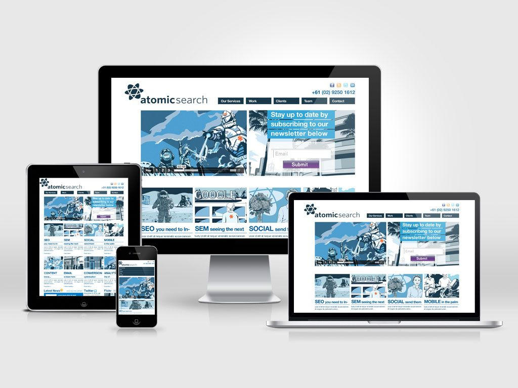 PSD to Responsive HTML5 Conversion