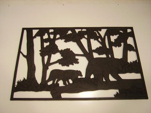 Best Bear Cast Iron Panel At Menards With Images Bear Decor 400 x 300