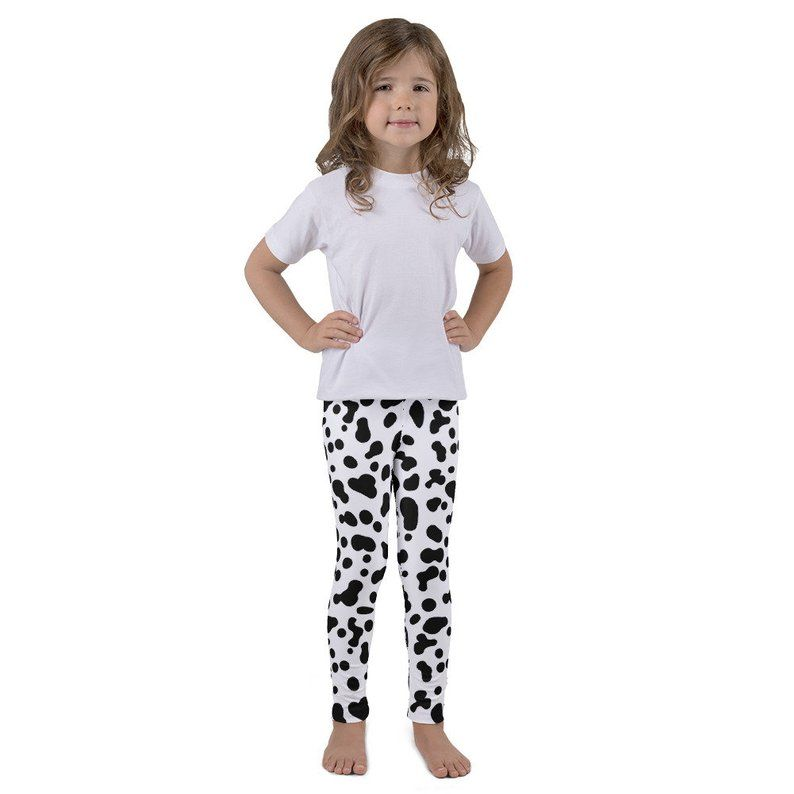 5673b113e These 101 Dalmatian Leggings are so in! Cosplay or Disney Bound as Cruella  for your