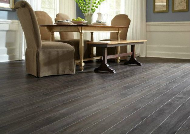 grey-laminate-flooring-kitchen-uzuoh35fjpg (626×442) Gray Floors