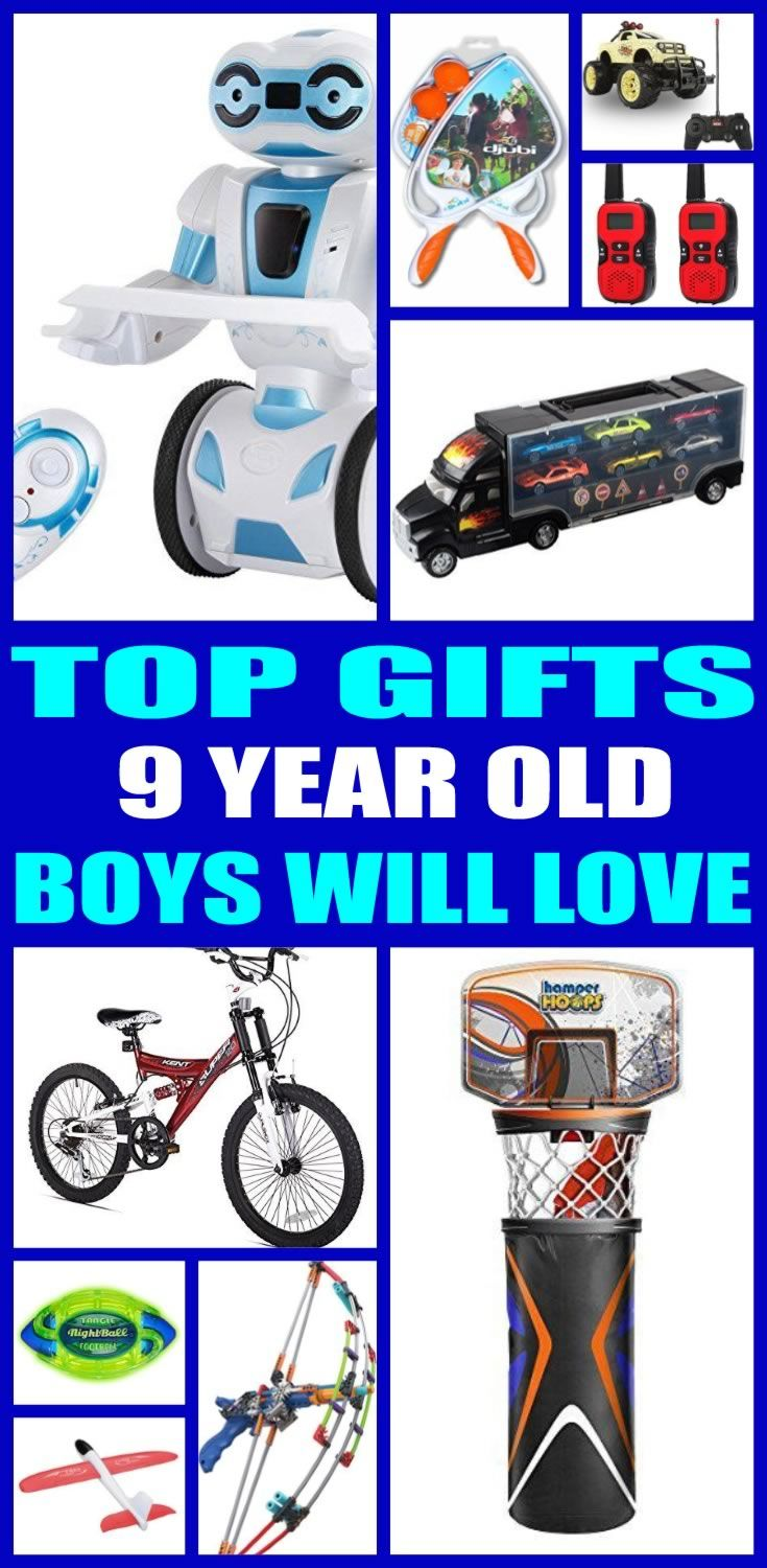 Best Gifts 9 Year Old Boys Will Love | Gift Guides | Pinterest ...