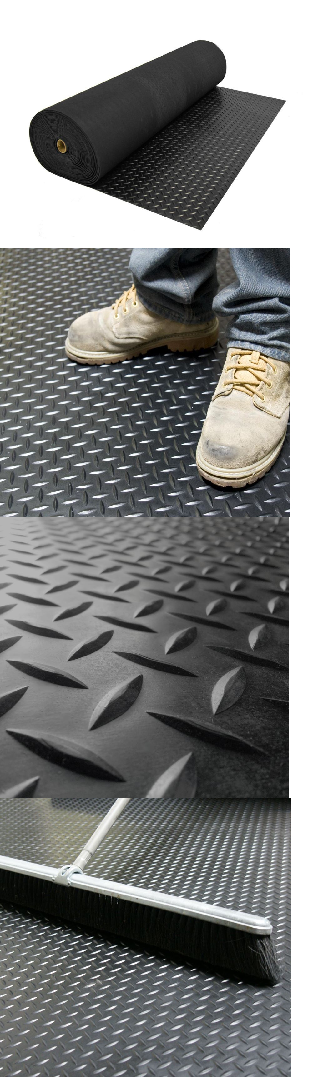 Rubber floor mats workout - Equipment Mats And Flooring 179806 Rubber Flooring Garage For Home Gym Floor Protector Black Diamond