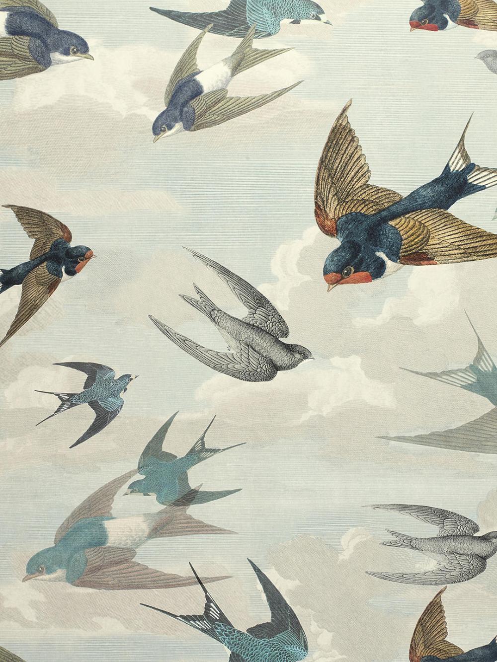 Designers Guild Chimney Swallows Wallpaper, PJD6003/01