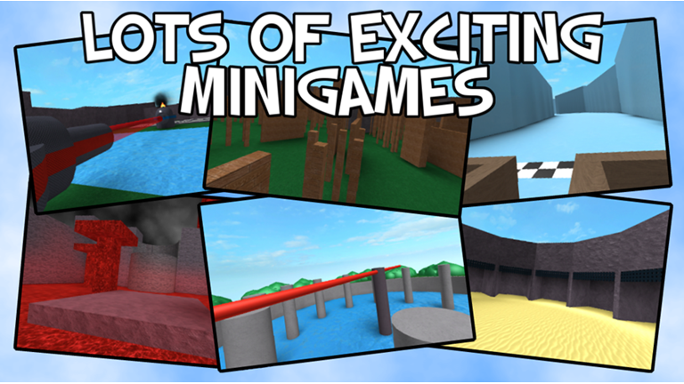 Epic Minigames ROBLOX Game logo, Games, Level up