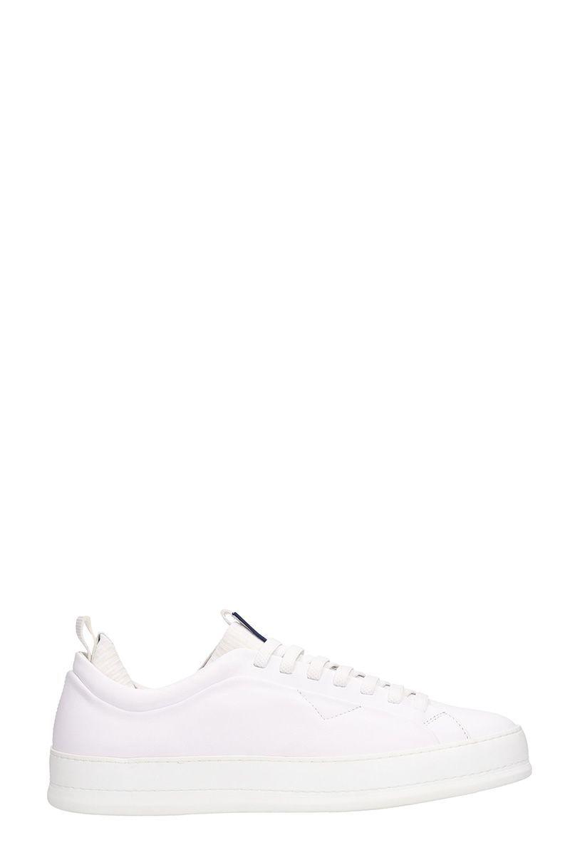 cbf7a4d9 Z ZEGNA SLIP ON WHITE LEATHER SNEAKERS. #zzegna #shoes # | Z ...