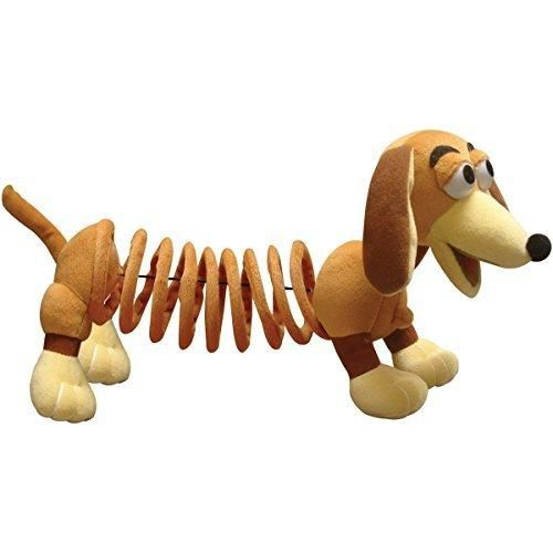 Kids 11 Inch Toy Story Movie Slinky Dog Beige Browndog Soft Head
