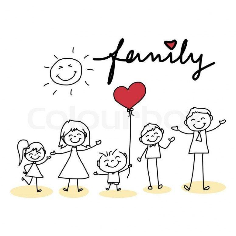 13 Ingenious Ways You Can Do With Family Cartoon Drawing Family Cartoon Drawing Https Ift Tt 2wa6l Disegni A Mano Tatuaggio Di Famiglia Famiglia Stilizzata