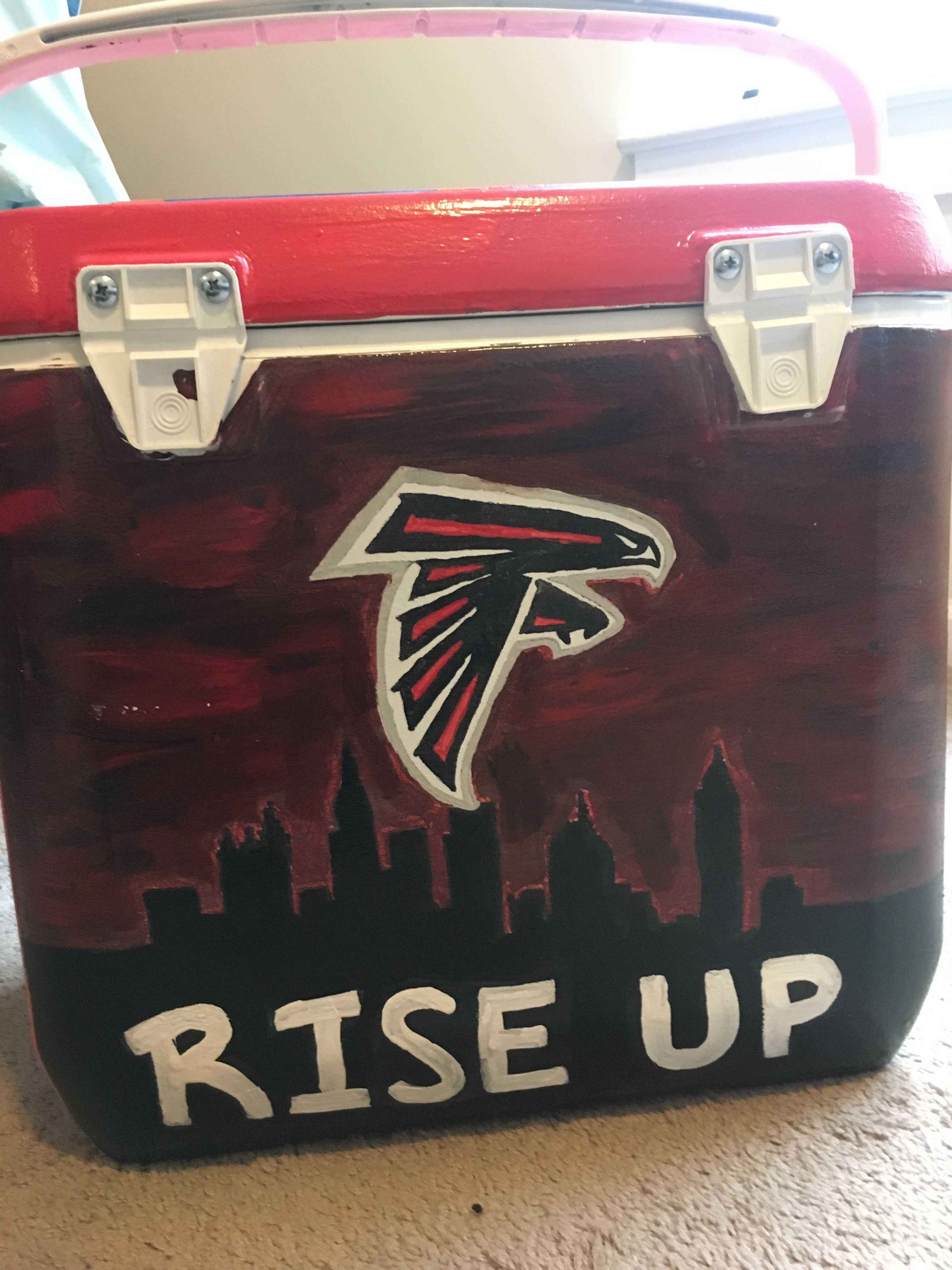 Atlanta Falcons Cooler Painting Atlanta Falcons Painting Atlanta Falcons Cooler Atlanta Falcons Football