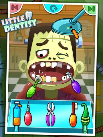 Little Dentist for Iphone Ipad Games for kids, Game app