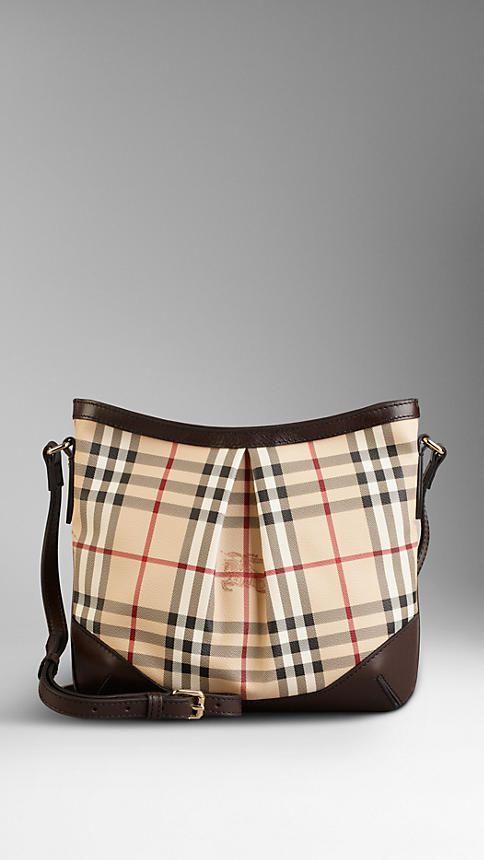 Medium Haymarket Check Crossbody Bag  21dedeacd17d7