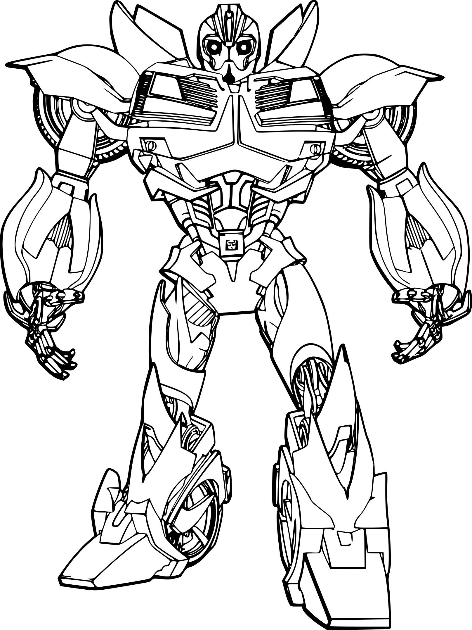 Dessin Transformers Bumblebee Dessin Transformers Bumblebee