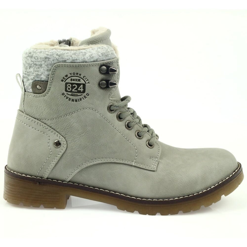 Grey Gray Bonded Shoes Dk2025 Fashion Clothing Shoes Accessories Womensshoes Athleticshoes Ebay Link Boots Timberland Boots Gents Shoes