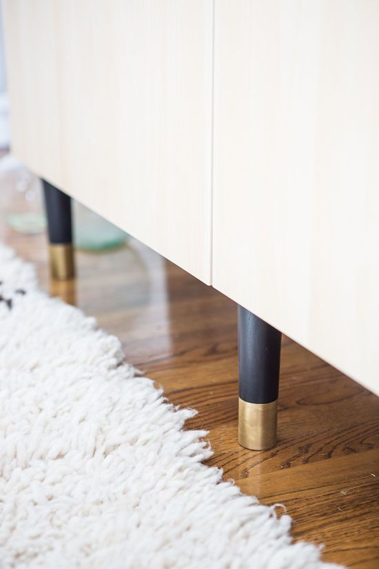 Pretty Pegs Ikea Leg Upgrades Via Design Love Fest Httpswww - Add color to your room prettypegs replace your ikea legs