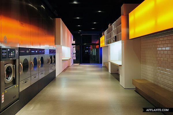 Splash Laundromat in Barcelona | B U S I N E S S | Laundry room ...