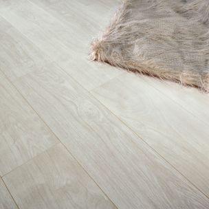 Series 7mm Loc White Oak V Groove Laminate Flooring