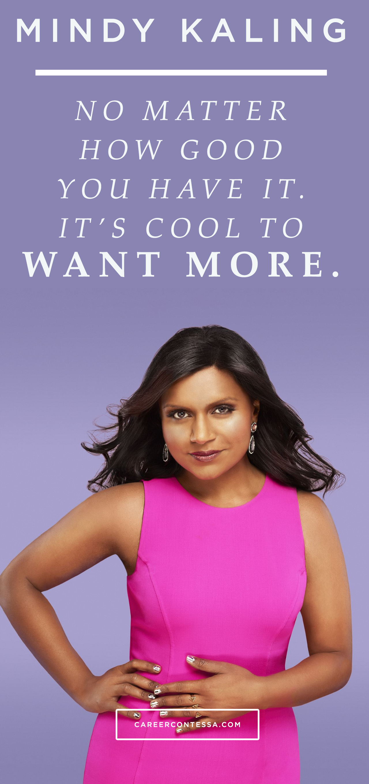 Honest Conversations About Work Life Secret To Success Career Counseling Mindy Kaling