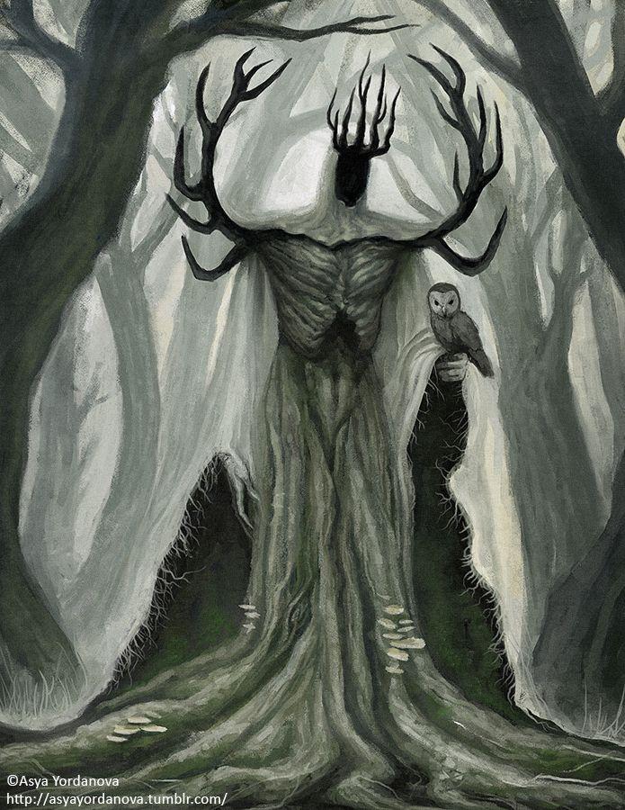 Forest King Art Woodcut Art King Art