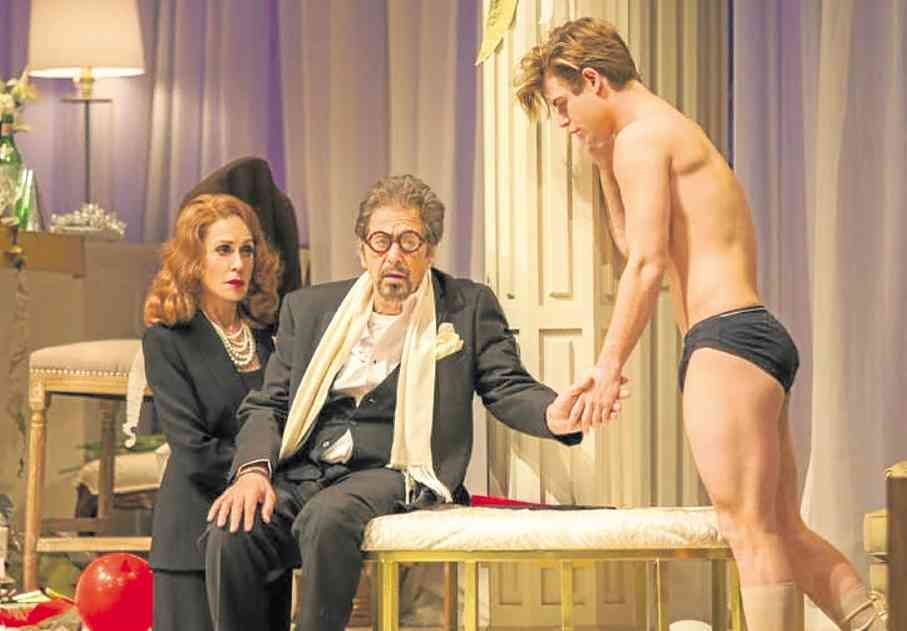 Clayton plays boy toy to Pacino's Tennessee Willia