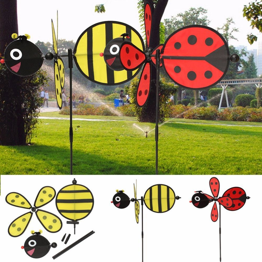 Bumble Bee Or Ladybug Windmill Spinner   Products   Pinterest ...