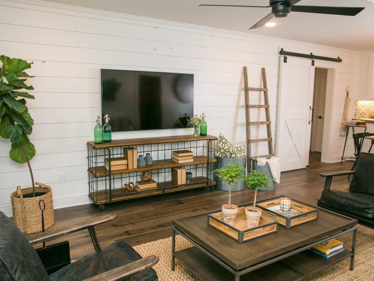 Turn Your Figurine Collection And High School Instrument Into Works Of Art With These 3 D Fixer Upper Living Room Joanna Gaines Living Room Trendy Living Rooms #shiplap #walls #in #living #room