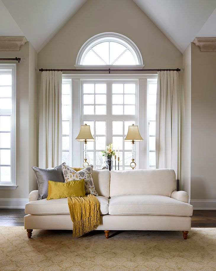 Interactive Bedroom Design Window Covering  Drapery Rod Never Hangs On Or Over Top Of The