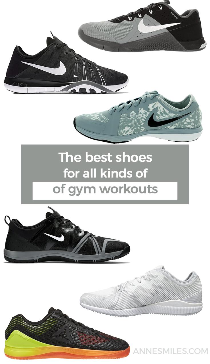 Gym gear women, Workout shoes