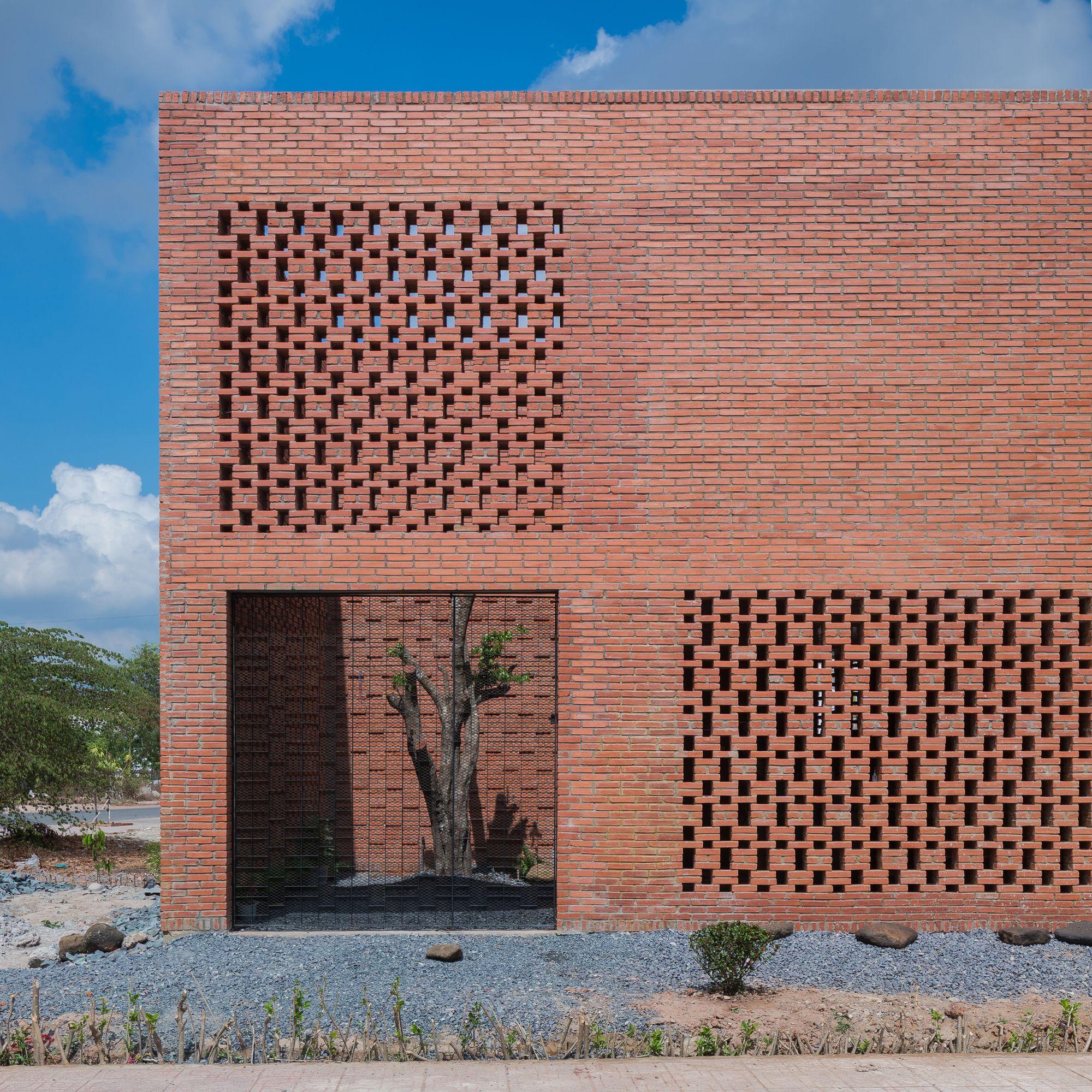 Haus Design, Ziegelwände, Mauerwerk, Kleine Häuser, Kleine Räume,  Außenbereich, Tropisch, Architektur, Arquitetura
