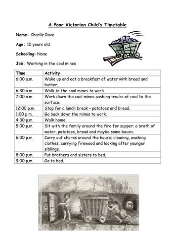 Victorian Timetable Victorian Victorian History School Survival