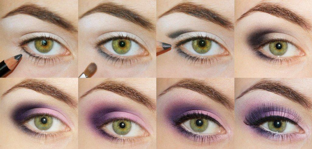 Подбираем макияж под фиолетовое платье фото, рекомендации