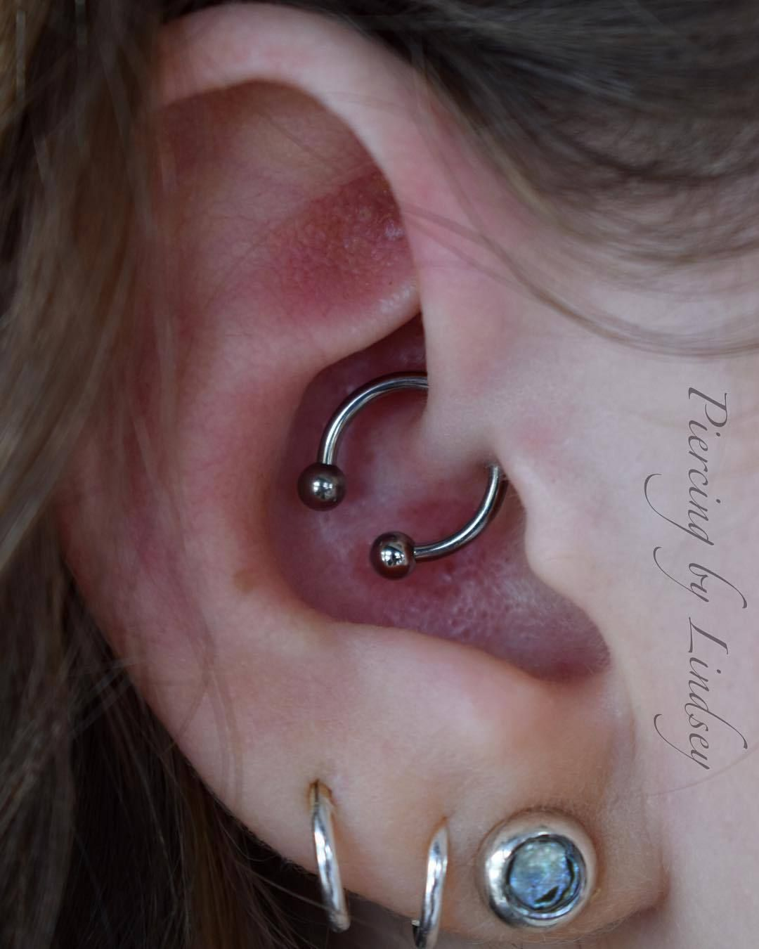 Abby Had Been Thinking About A Few Different Cartilage Piercings For