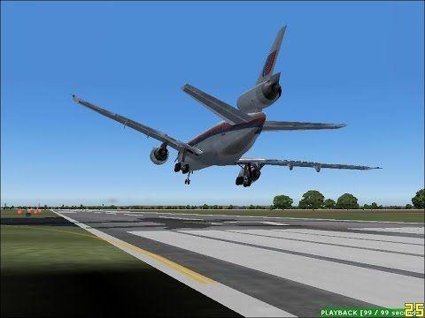 The Crash Landing Of 1989 S United Airlines Flight 232 Recreated In Microsoft Flight Simulator Airline Flights United Airlines Microsoft Flight Simulator