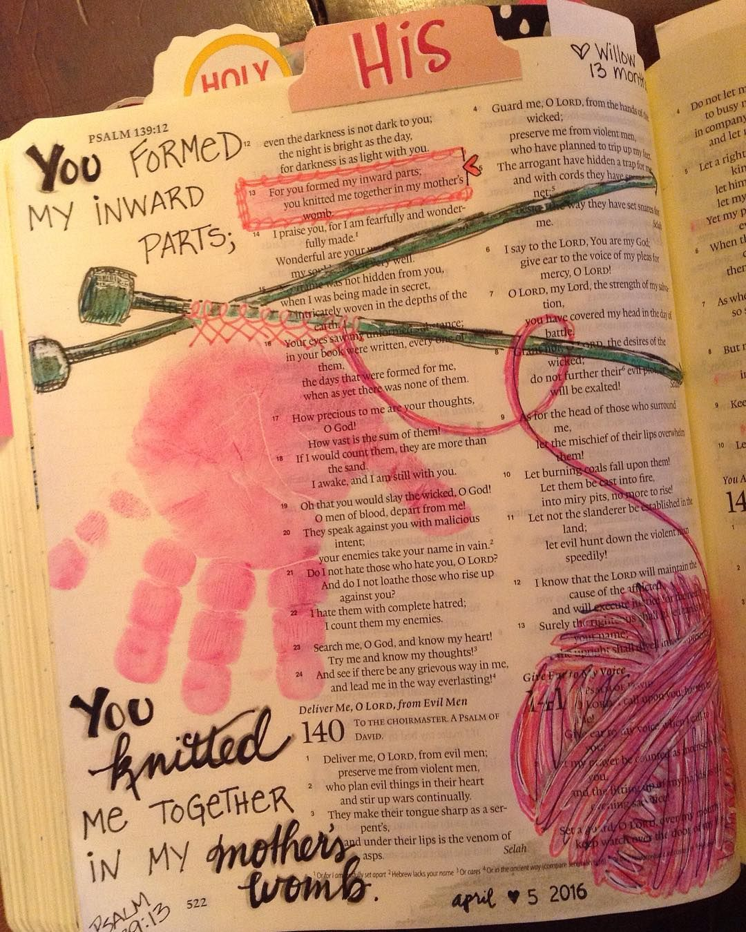 When I First Heard This Verse It Spoke Right To My Heart I Knit I Could Understand The Concept