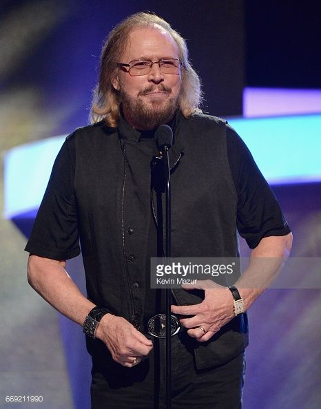Honoree Barry Gibb speaks onstage during 'Stayin' Alive: A GRAMMY Salute To The Music Of The Bee Gees' on February 14, 2017 in Los Angeles, California.