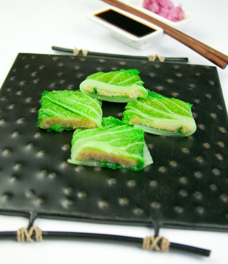 Eden recipes mochi stuffed chinese cabbage recipe