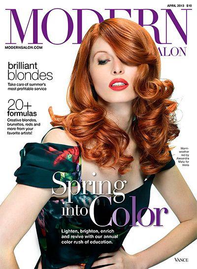 Modern Salon Magazine Google Search Modern Salon Popular Hairstyles Hair Styles